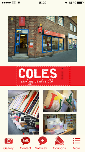 Coles Sewing Centre