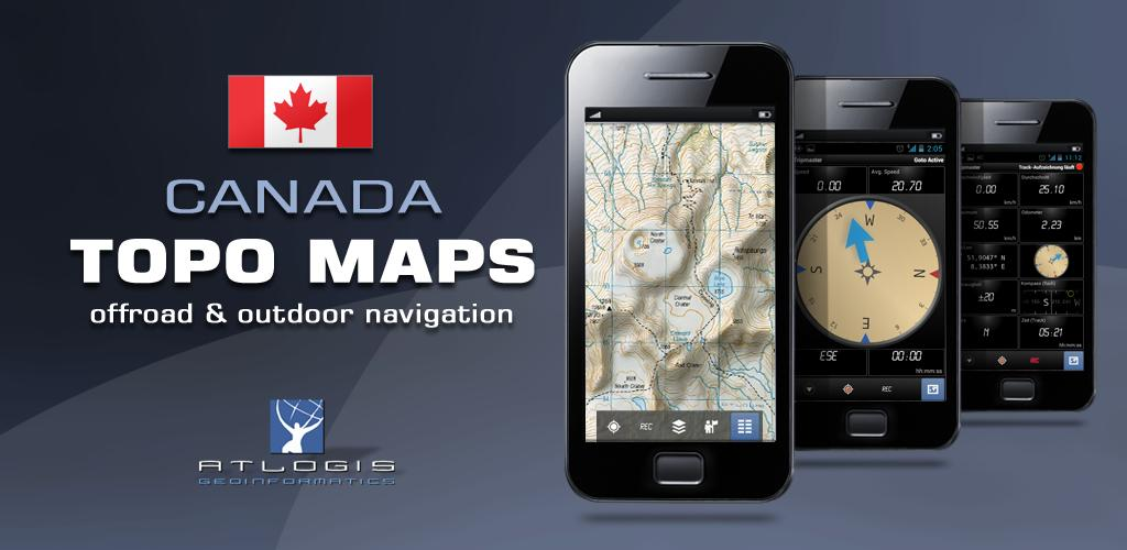 Download Canada Topo Maps Pro APK latest version app for android devices