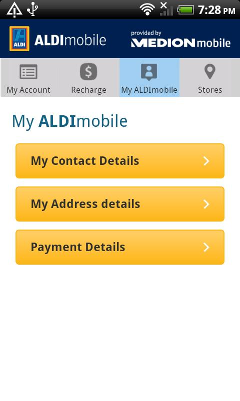 ALDImobile - screenshot