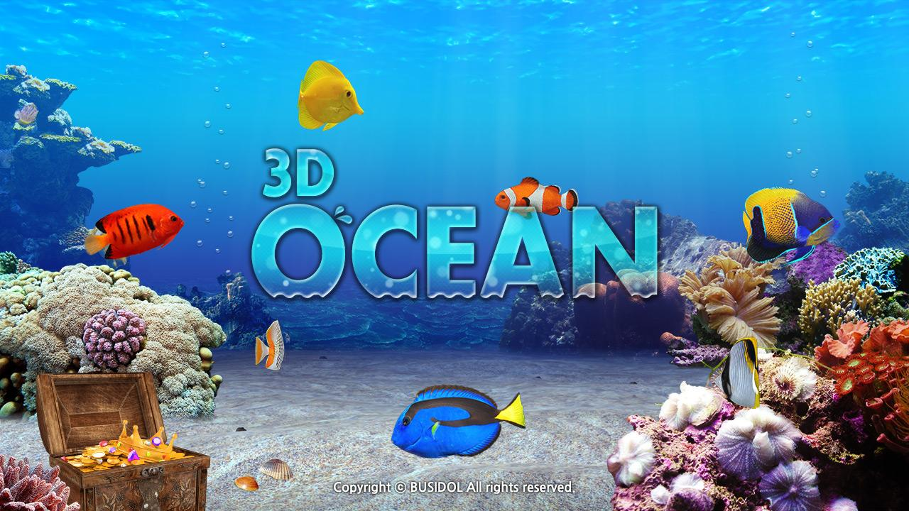 Fish aquarium game 3d ocean android apps on google play for Gold fish game