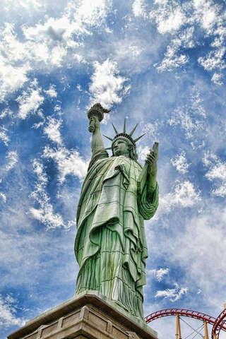 自由女神像拼圖