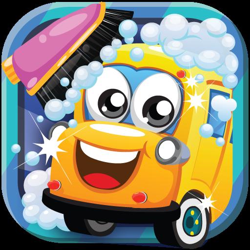 School Bus Car Wash 休閒 App LOGO-APP試玩