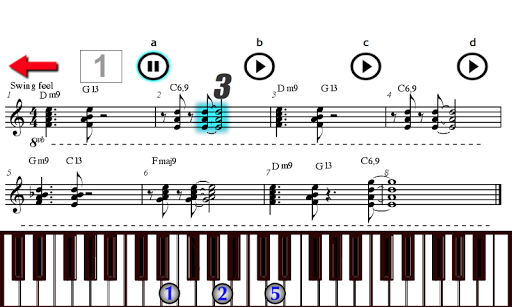 Play Piano Keyboards Jazz