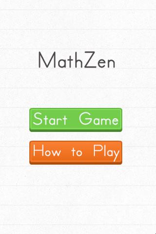 MathZen - Super Fun Math game