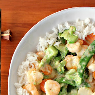 Shrimp in Coconut Milk Sauce.