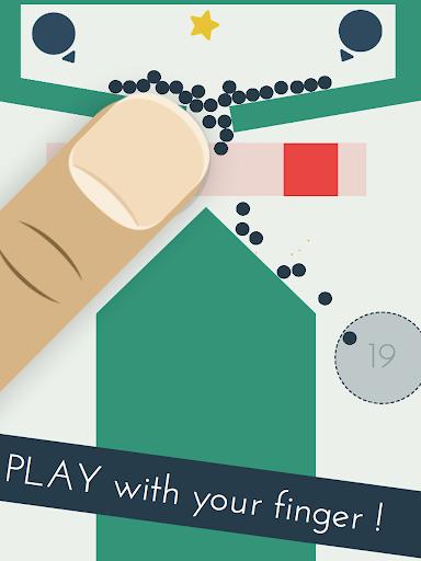 Игра Bounsy - Finger Physics Puzzle для планшетов на Android