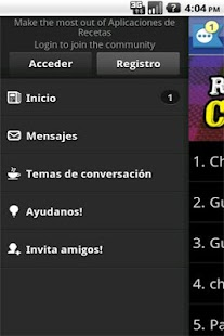 Recetas Chilenas 2.0 - screenshot thumbnail