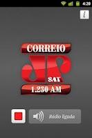 Screenshot of Rádio Correio Jovem Pan SAT
