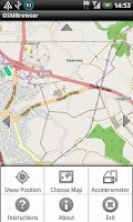 Screenshot of OSM Browser