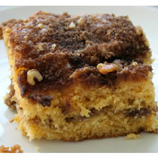 Streusel Coffee Cake With Yellow Cake Mix
