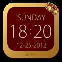 Widget Relógio Natal icon