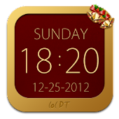 Christmas Clock Widget