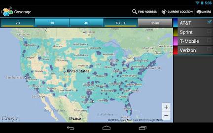 CellMaps Mobile Coverage Screenshot 12