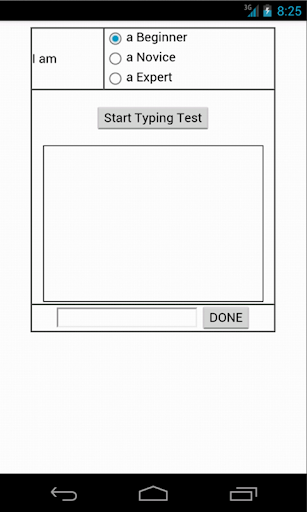 Typing Speed Testing