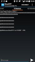 Screenshot of BlueSPP