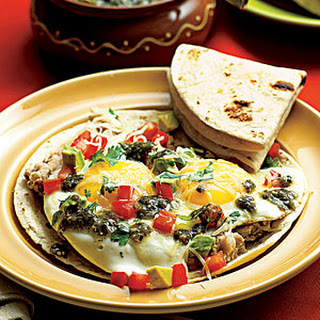 Mexican Eggs with Beans