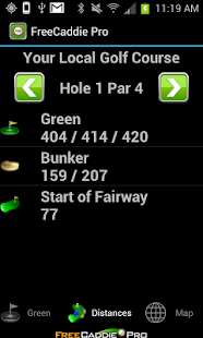 FreeCaddie Pro Golf GPS - screenshot thumbnail