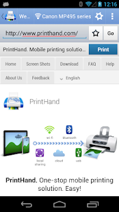 PrintHand Mobile Print - screenshot thumbnail