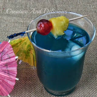 Blue Lagoon Drink With Pineapple Juice Recipes.