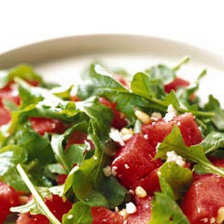 Watermelon, Arugula, and Pine Nut Salad