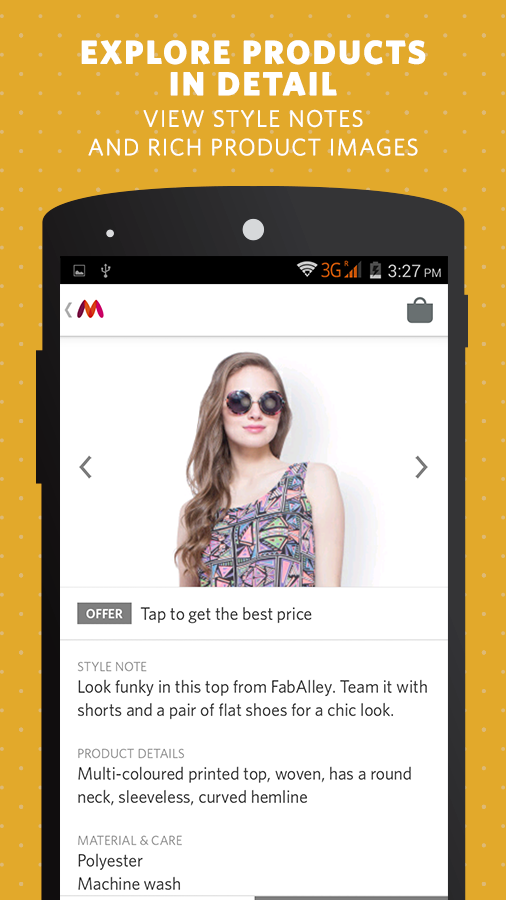 Myntra Fashion Shopping App for India