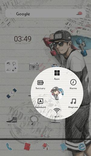 玩個人化App|피피노트(black n white) 도돌런처 테마免費|APP試玩