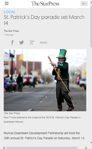 Saint Patrick's Day News