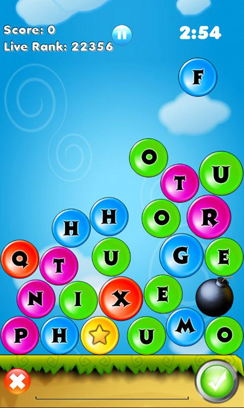 WordDrop: Wonderful words game - screenshot