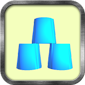 Cup Stacking Game - Full Speed