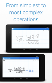 MyScript Calculator Screenshot 26