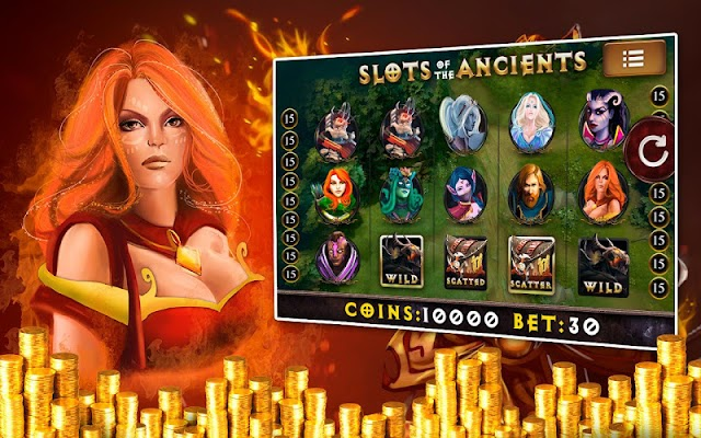 Ancients: Casino Slots Pokies - screenshot