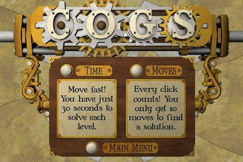 Cogs Demo - screenshot