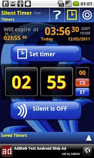 Silent Mode Timer Free - screenshot thumbnail