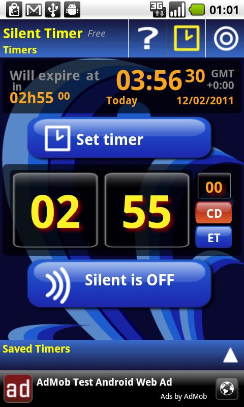 Silent Mode Timer Free - screenshot