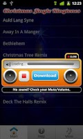 Screenshot of Christmas Ringtones