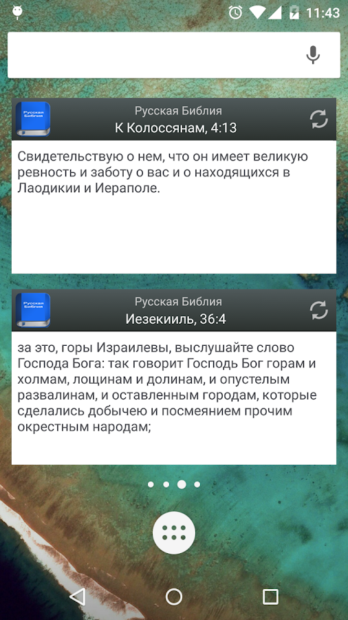 Русская Библия- screenshot