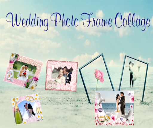 Wedding Photo Frames Collage