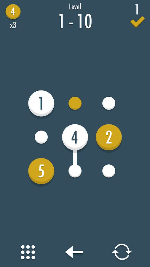 Noda - Dots and Number Puzzle- screenshot