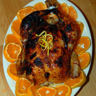 Orange Ginger Chicken.
