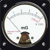 Kompass + Gauss EMF Meter