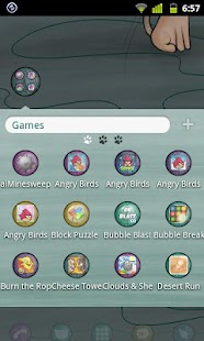 Kitten Theme GO Launcher EX - screenshot thumbnail