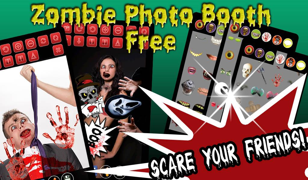 Zombie Photo Booth Free- screenshot
