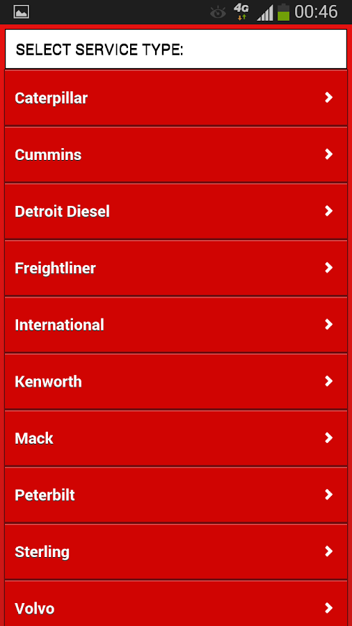Find Truck Service Locator - screenshot