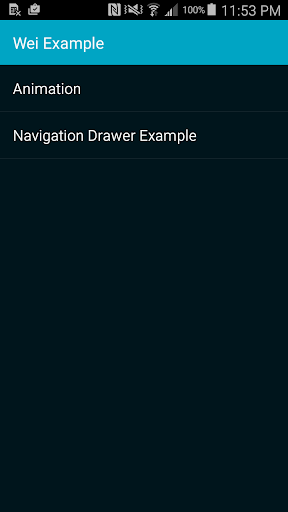 Android UI Demo Cat