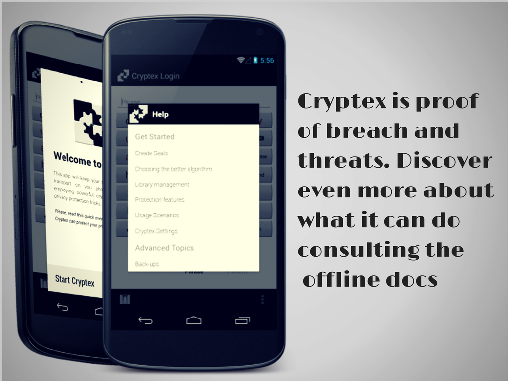 Cryptex Secret Safe- screenshot