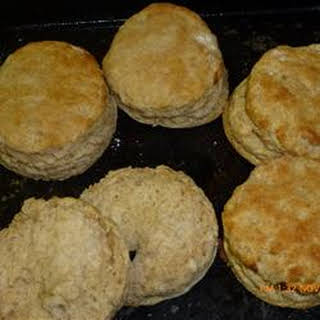 Fluffy Whole Wheat Biscuits.