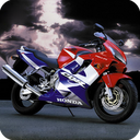 3D Racing Moto mobile app icon