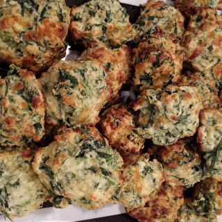 Spinach and Cheese Poppers