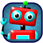 Robot Maze - Puzzle Game icon