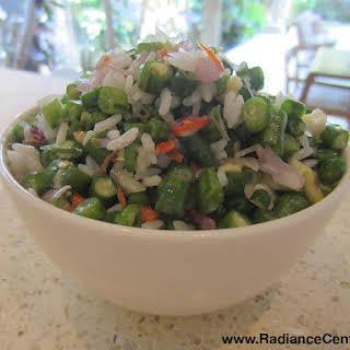 Indonesian Spicy Long Bean Salad Recipe (Lasuq), Ep139.